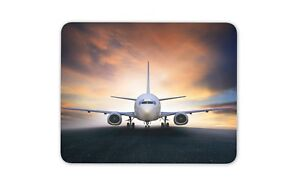 Personalised Fighter Plane Mouse Mat Pad Computer Gaming War Gift Dad Him ST399