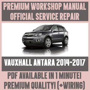 workshop manual service repair guide for vauxhall antara 2014 2017 rh ebay co uk used vauxhall antara fault guide vauxhall antara fault guide