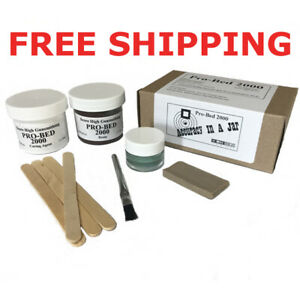 Pro-Bed-2000-2oz-Single-Rifle-Bedding-kit-with-Brown-Resin