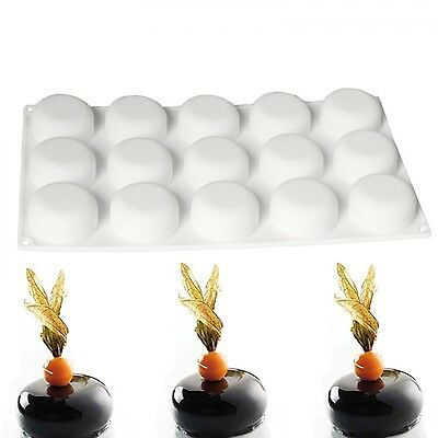 Silicone Globe Stone Shape Mould For Chocolate Mignon Tiramisu Caramel Bavaroise