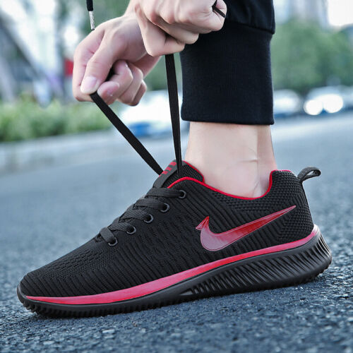 Men/'s Air Sports Running Breathable Mesh Shoes Jogging Casual Athletic Sneakers