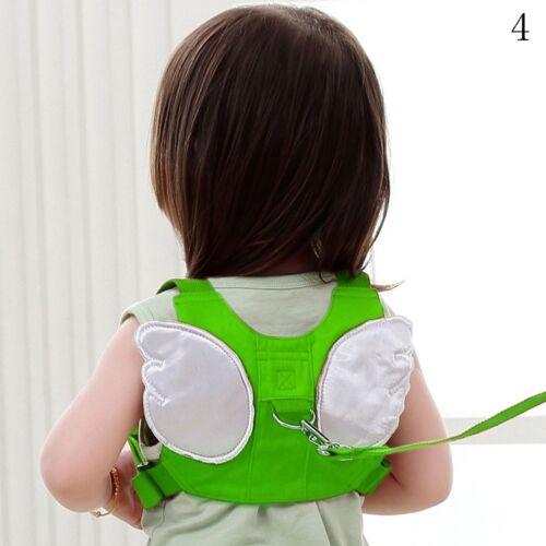 4Farben Sicherheitsgurt Baby Kinder Sicherheit-Leine Anti-Verloren Strap Gürtel#