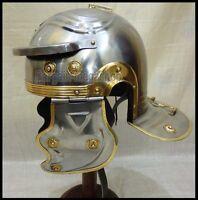 Medieval Helmet New Roman Centurion Helmet SCA & LARP New Roman Helmet