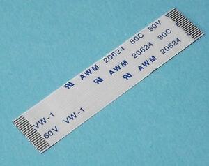 FFC-A-20Pin-0-5Pitch-5cm-Flachbandkabel-Flat-Flex-Cable-Ribbon-AWM-Flachkabel