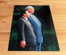 Helmut Kohl *CDU Kanzler*, original signiertes/signed Foto ca. 18x 27 cm