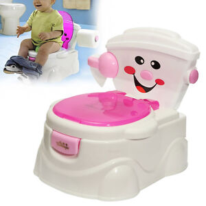 Baby-Kind-WC-Potty-Toilettentrainer-Topf-Toepfchen-Toilettensitz-ohne-Neu