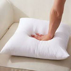 Hollow-fiber /& Duck-feather Cushion Fillers//Inner Cushion Inserts//Pads All Sizes