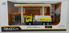 1:64 RMZ *SHELL* Gas Service Diorama Display w/Fuel Truck Signs + *NIB*