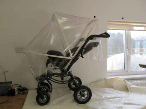 RAIN COVER TO FIT SPECIAL TOMATO 3 WHEEL JOGGER FRAMED