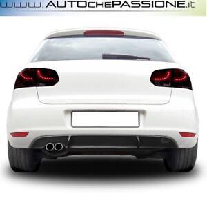 Estrattore-sotto-paraurti-in-ABS-per-VW-Golf-6-dal-2008-gt-2012-R-look