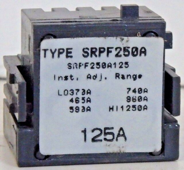 GENERAL ELECTRIC SPECTRA RMS RATING PLUG 250 AMP GE #SRPF250A