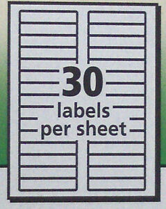 300 avery 5366 white 5866 green file folder labels laser for Avery template 5366 for word
