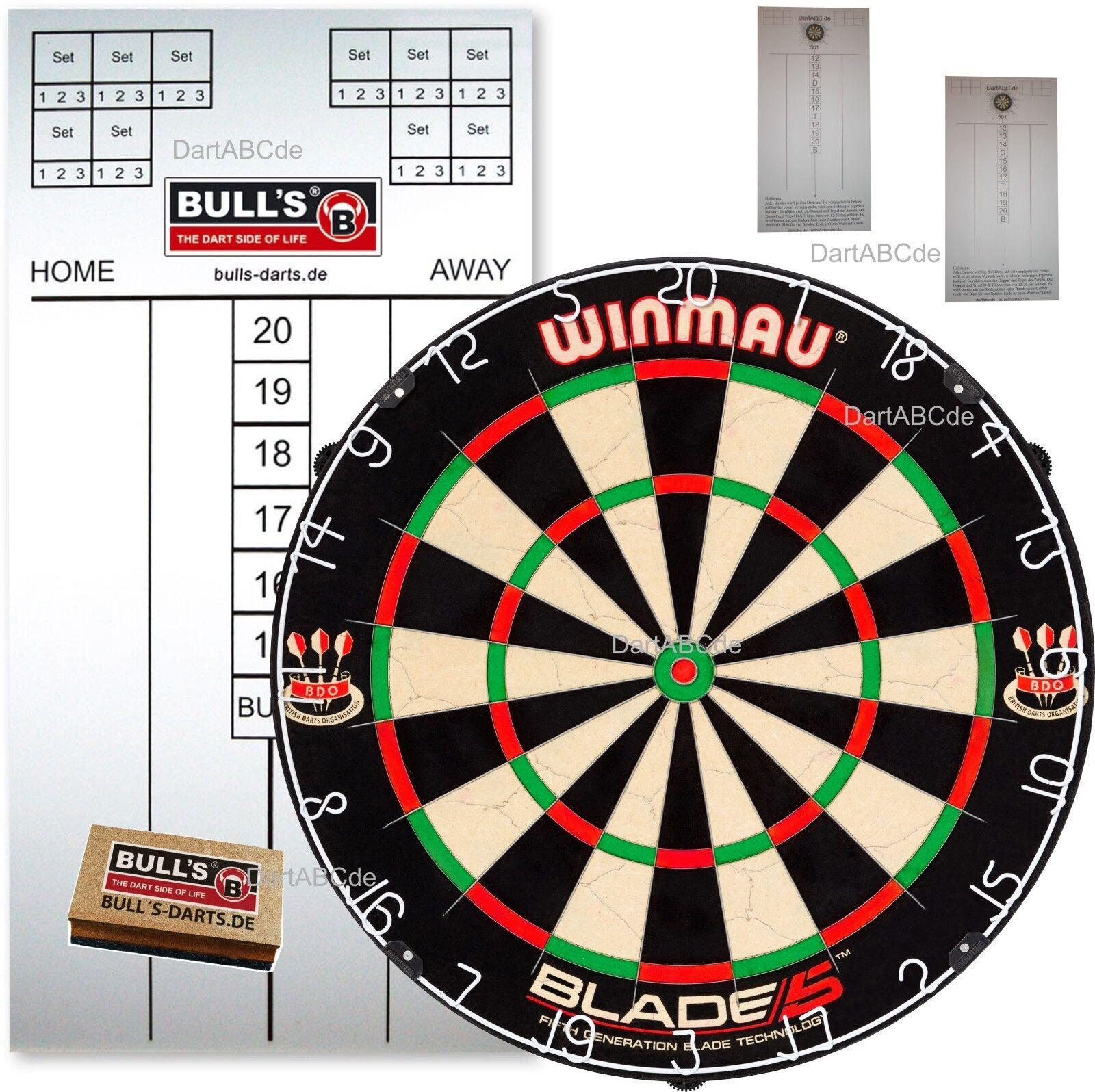 WINMAU Original Blade 5 Board mit Tafel, Stift und Schwamm