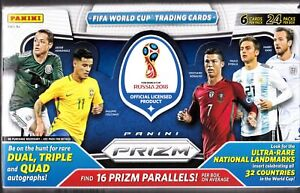 2018 Panini World Cup Prizm Base Soccer Cards Pick Your Player FREE SHIPPING