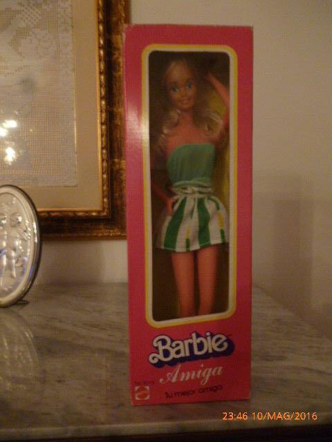 1981 Barbie Superstar Amiga Aurimat Cipsa Mexico hawaiian picture pretty