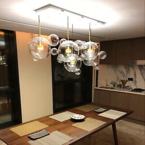 Details About Led Island Lighting Chandelier Restaurant Ceiling Lamp Gl Globe Pendant Light