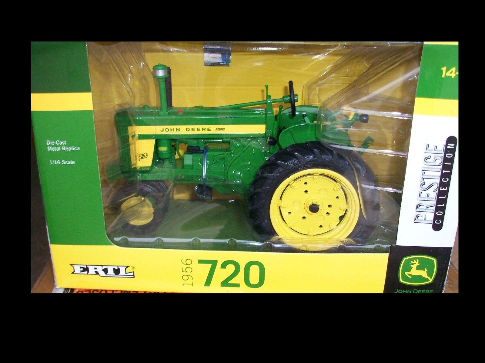 1956 John Deere 720 Tractor 1 16 Ertl 45080