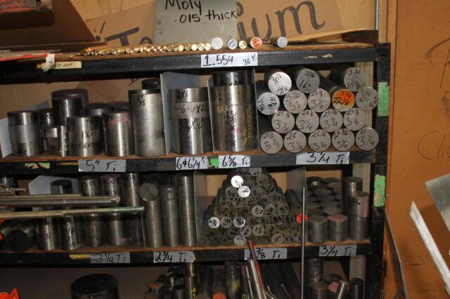 Titanium 6al4v round bar- PRICE IS PER POUND