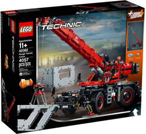 Lego Technic 42082 - Rough Terrain Crane NUOVO