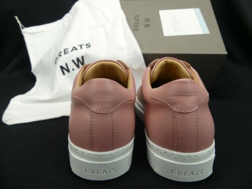 GREATS NICK WOOSTER Collection Pink Leather Shoes Womans 7 $229 ITALY Details about  /NEW