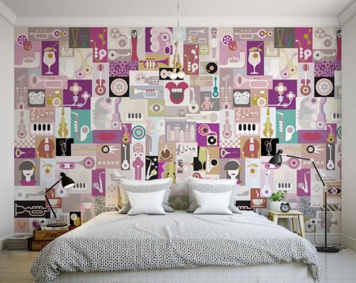 3D Fashion Cartoon 754 Wall Paper Murals Wall Print Wall Wallpaper Mural AU Kyra