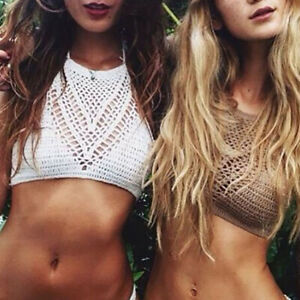 Women-Crochet-Lace-Bralette-Knit-Bra-Boho-Beach-Bikini-Halter-Cami-Tank-Crop-Top