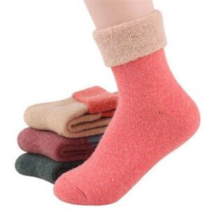 Calze da donna casual in lana di cashmere, morbide e calde. Colore casuale