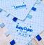 Personalised baby comforter blanket dimple taggy blanket Personalised baby gift