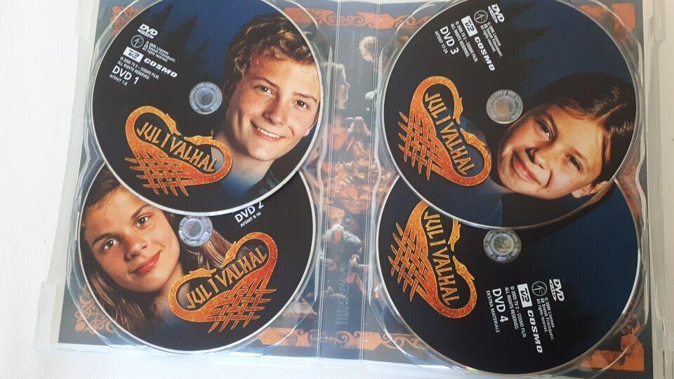 Jul i Valhal, DVD, familiefilm