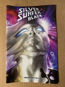 MARVEL 2019 1st Print COMIC SILVER SURFER BLACK #4