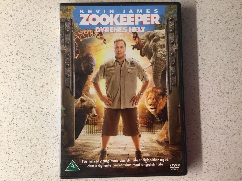 Zookeeper dyrenes helt , DVD, komedie