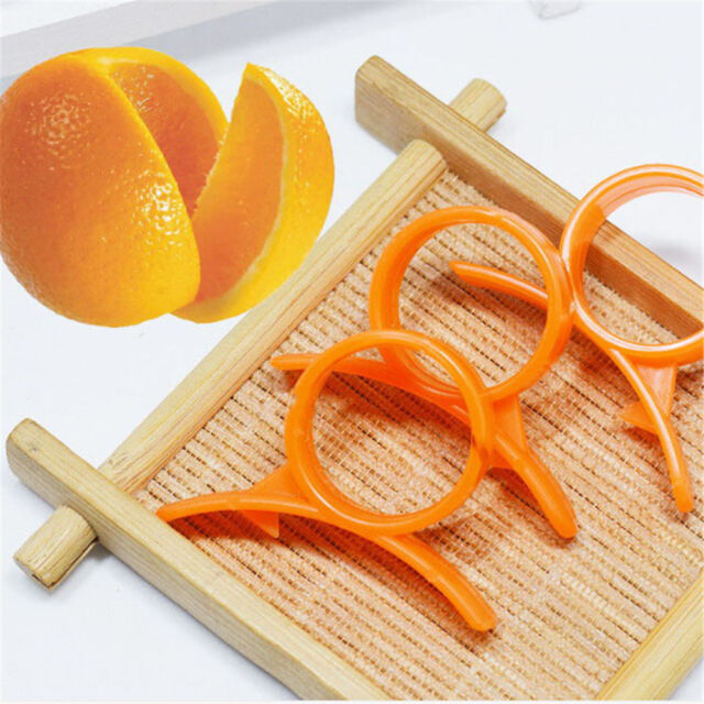 10pcs Finger Open Peeler Parer For Orange Peel Kitchen Gadgets Cooking Tools HF