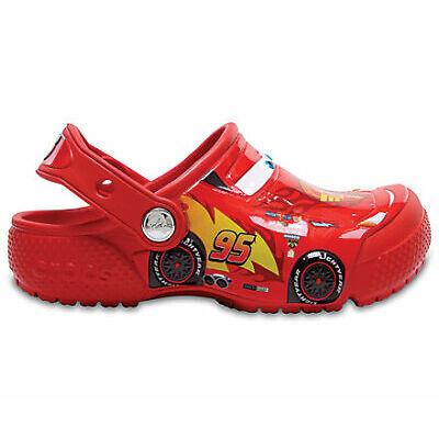 NEW Genuine Crocs Kids FunLab Cars Clog Flame - Australia Store
