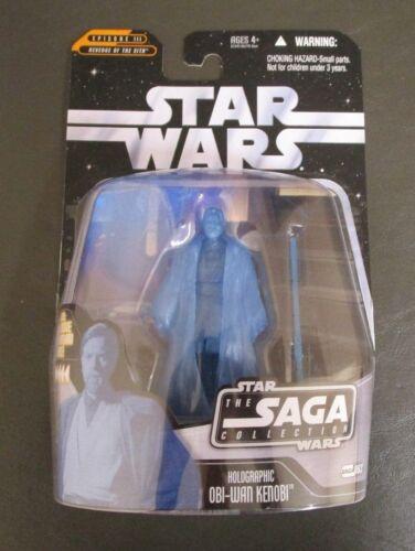 Holographic Obi-Wan Kenobi 2006 STAR WARS The Saga Collection MOC #063 63