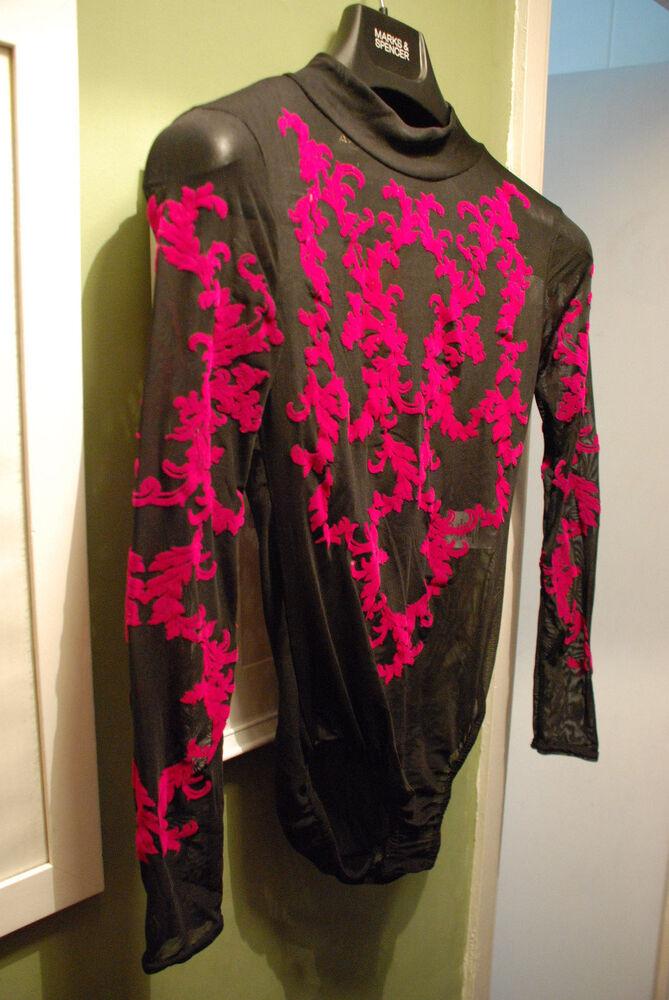 * Nouveau * Ayanapa Corps Burnt Velvet Onepiece Justaucorps Danseuse Ballet Lingerie Sharkie