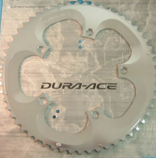 New Shimano Dura-Ace FC-7800 Replacement Outer Chainring A-Type 130 BCD x 55T