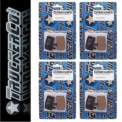 1pr TruckerCo Sintered Metallic Disc Brake Pads Hayes Stroker Trail Carbon