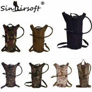 3L Water Bag Hydration Pack Backpack Cycling Bladder Hiking Army Tactical