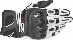 ALPINESTARS Womens SPX AIR CARBON Leather//Mesh Riding Gloves Black Choose Size
