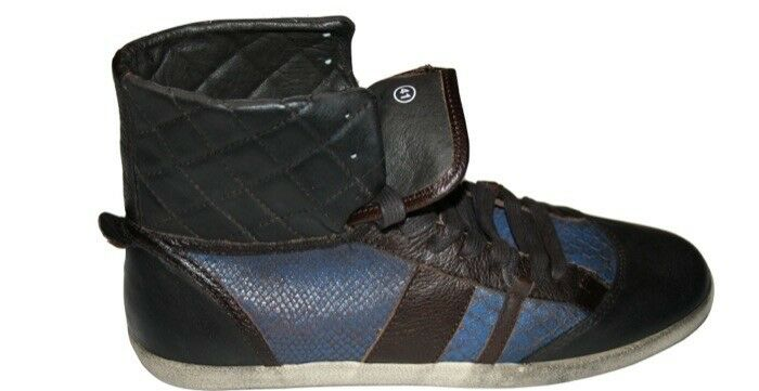 Liebeskind Berlin Turnschuhe Baskets Gr.41 NEU braun blau Vintage    Erschwinglich