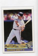 Baseball MLB 2018 Donruss #241 George Brett Retro 1984 Royals