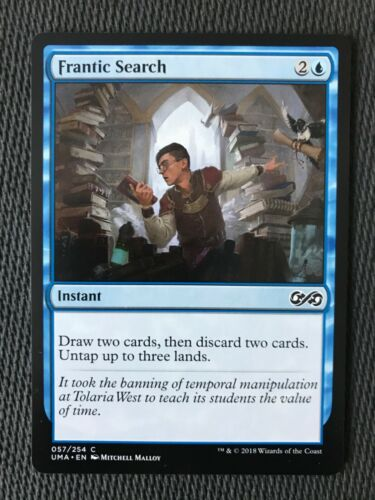 Frantic Search Magic MTG NM//M {Ultimate Masters Edition} Fast Ship