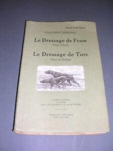 Chasse-chien-de-chasse-R-Dommanget-1949-le-dressage-de-Fram-chien-d-039-arret