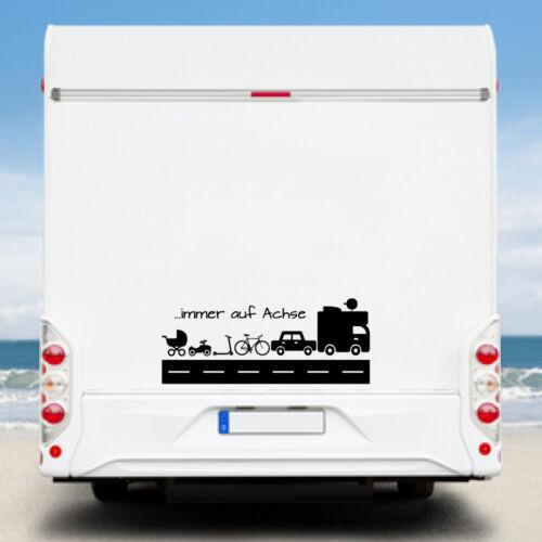 Wohnwagen Aufkleber Wohnmobil Aufkleber WA10 Kingzdesign