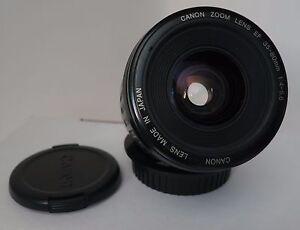 Canon EF Zoom lens 35-80mm f/4-5.6 EOS AF