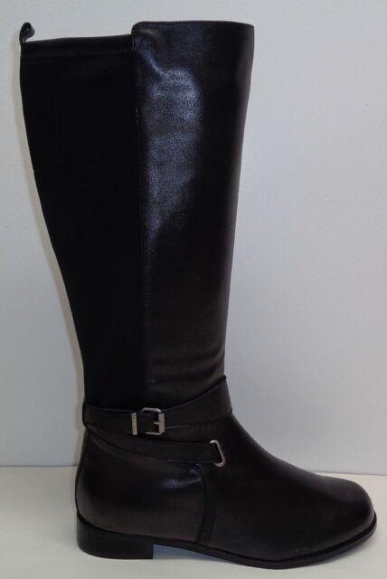 WIDE TAMARA Black Boots
