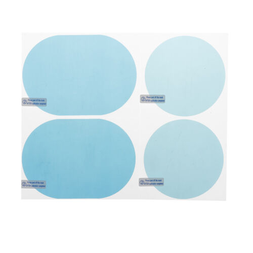 Car rain mirror protective film anti fog membrane anti-glare waterproof~SL
