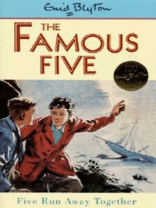The-Famous-Five-Five-run-away-together-by-Enid-Blyton-Paperback-Amazing-Value