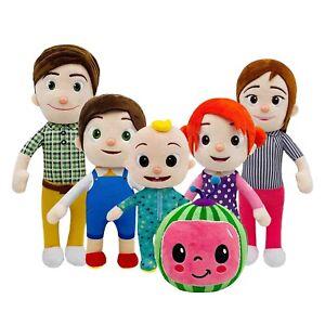 Peluche Cocomelon Personaggi Sonori JJ's Family Doll Cartoon Giocattoli Figure