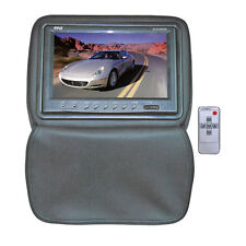 Pyle PL91HRGR Headrests w/ Built-In 9'' TFT/LCD Monitor W/IR Transmitter & Cover